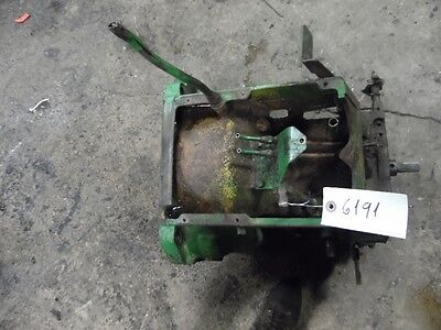 John Deere 3010 Tractor Trans Bell Housing Part R31670r Tag 6191