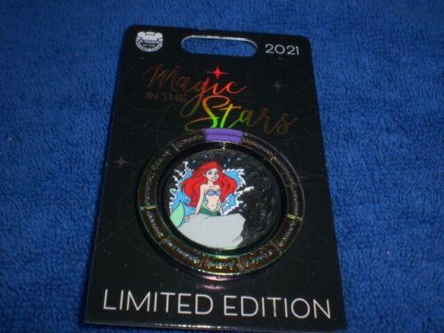 Disney 2021 MAGIC IN THE STARS Little Mermaid ARIEL AQUARIUS LE Spinner Pin