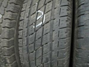 LT225/75R16 SINGLE ONLY USED TOYO A/S TIRE