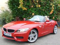 BMW Z4 2.0 Z4 SDRIVE20I M SPORT ROADSTER 2d (red) 2013