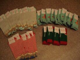 Wholesale Job Lot Millie Mae Childrens socks - 28 pairs - Size 12-3 - Brand New