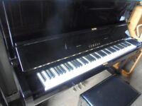 upright piano by yamaha U1 A top of the u1 range
