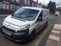 CITROEN DISPATCH - QUICK SALE, GOOD VAN - USED AS A PLUMBING VAN