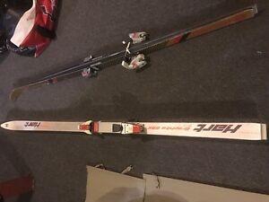 2 paires de ski alpin è donner