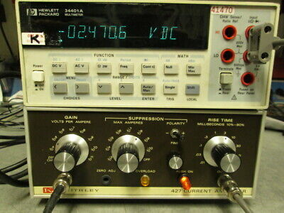 Keithley 427 Current Amplifier Tested