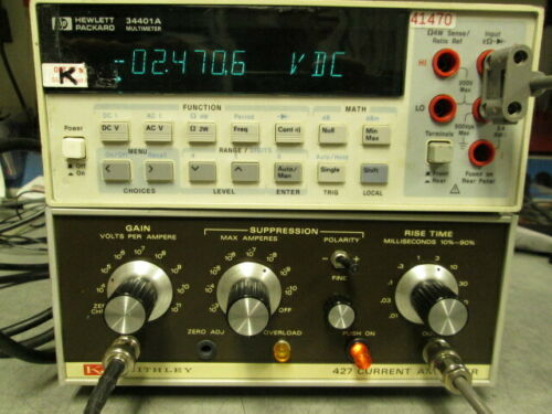 Keithley 427 Current Amplifier TESTED!