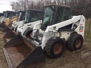 2004 BOBCAT S220 CAB, HEAT, 2-SPEED, SKID STEER LOADER
