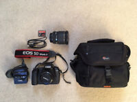 CANON 5D Mark ii/2 package (body, lenses, memory cards, bag etc) - Excellent condition