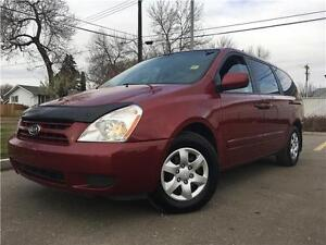 2009 Kia Sedona EX 167K = STOW & GO = NO ACCIDENTS = NEW TIRES