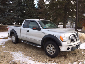 2010 xlt f150 extended cab silver 4x4 xtr package
