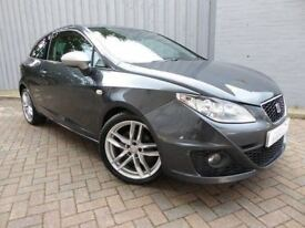 Seat Ibiza 2.0 CR TDI FR, Diesel, Sporty Hatch, with Fabulous MPG and Excellent Service History