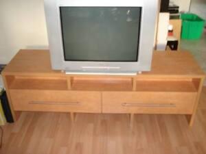 Meuble de télé et audio en Teck