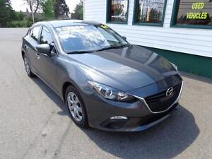 2014 Mazda3 GX-SKY Sport wagon for only $117 bi-weekly all in!