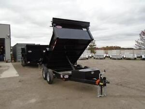 2017 6X10 DUMP TRAILER - BUILT TO LAST - BEST BANG FOR YOUR BUCK London Ontario image 5