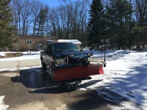 Ford Truck 4x4 F250 Lariat with Western V-9.5'  Snow plow
