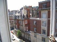 Large room with en-suite bathroom in Marylebone