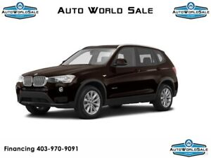 2015 BMW X3 - 28i XDRIVE-AWD | TECHNOLOGY PACKAGE | PANO ROOF |