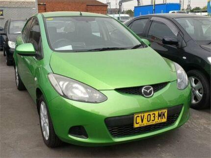 2008 Mazda 2 DE Maxx Green 4 Speed Automatic Hatchback Granville Parramatta Area Preview