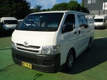 2009 Toyota Hiace KDH201R MY07 Upgrade LWB White 4 Speed Automatic Van Canada Bay Canada Bay Area Preview