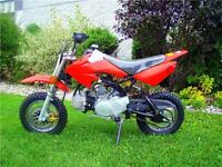 LIQUIDATION--DIRT BIKE  Demon 110cc & 125cc  SPECIAL 549$ REG 69