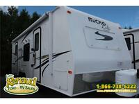 USED 2014 MICRO LITE 25DS TRAVEL TRAILER