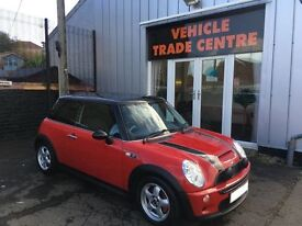 MINI HATCH COOPER 1.6 COOPER S 3d 168 BHP (red) 2005