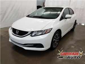 Honda Civic EX Toit Ouvrant MAGS Bluetooth 2015