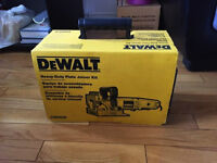 dewalt plate joiner heavy duty