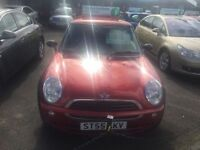 MINI HATCH ONE 1.6 ONE SEVEN 3d 89 BHP (red) 2005
