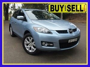 2007 Mazda CX-7 ER Luxury (4x4) Blue 6 Speed Auto Activematic Wagon Lansvale Liverpool Area Preview