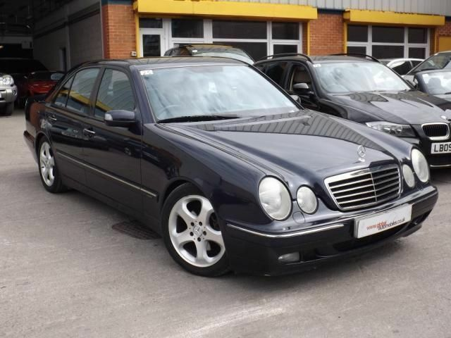 2001 51 mercedes benz e class 3 2 e320 cdi avantgarde 4d for 2001 mercedes benz e320
