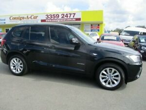 2014 BMW X3 F25 MY1213 xDrive20d Steptronic Black 8 Speed Automatic Wagon Kedron Brisbane North East Preview