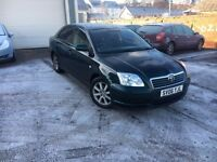 Toyota Avensis T3-S, New MOT, Serviced, Warranty, Low Miles, Sat-Nav, Outstanding Condition