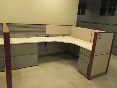 Used Office Cubicles Steelcase Montage Cubicles 7.5x5.5