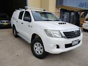 2011 Toyota Hilux KUN26R MY12 SR (4x4) 5 Speed Manual Dual Cab Pickup Moorebank Liverpool Area Preview