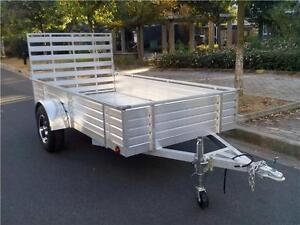 ALL ALUMINUM UTILITY TRAILERS  5X10 & 6X12 A JENSEN EXCLUSIVE