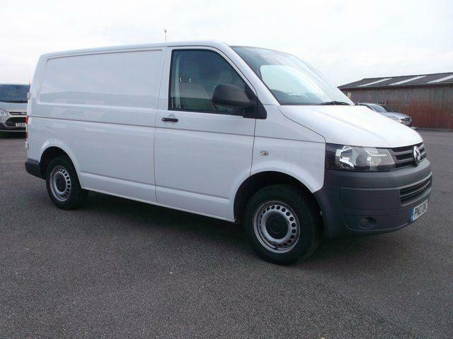Volkswagen Transporter T28 SWB 2.0TDI 102PS VAN DIESEL MANUAL WHITE (2013)