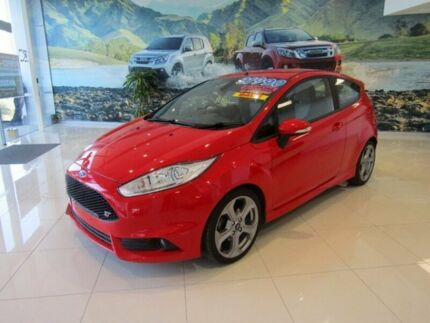 2016 Ford Fiesta WZ ST Red 6 Speed Manual Hatchback
