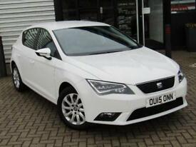 2015 SEAT LEON HATCHBACK 1.4 TSI 125 SE 5dr [Technology Pack]
