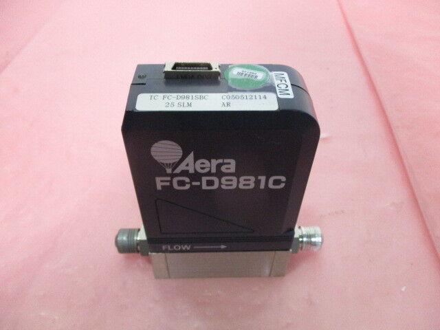Aera FC-D981SBC Mass Flow Controller, MFC, AR, 25 SLM, 22-185668-00, 421380