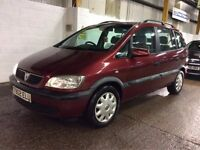 VAUXHALL ZAFIRA 1.6 PETROL MANUAL MPV 7 SEATER FAMILY CAR GOOD DRIVE NOT SCENIC ASTRA PICASSO GALAXY