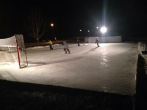 Outdoor Hockey Rinnk