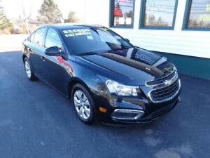 2016 Chevrolet Cruze Limited LT for only $132 bi-weekly all in!