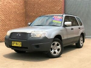 2007 Subaru Forester 79V MY07 X AWD Silver 5 Speed Manual Wagon Mount Druitt Blacktown Area Preview