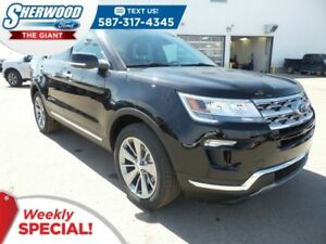 2018 Ford Explorer Limited 4WD - SYNC Connect, Leather, B/T, USB