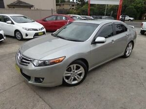 2008 Honda Accord 10 Euro Luxury Navi Silver 5 Speed Automatic Sedan Sylvania Sutherland Area Preview
