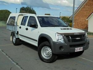 2011 Isuzu D-MAX MY11 SX White 5 Speed Manual Cab Chassis Chermside Brisbane North East Preview