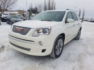 2012 Gmc Acadia AWD DENALI $19995 Navigation (GPS),  Rear DVD,