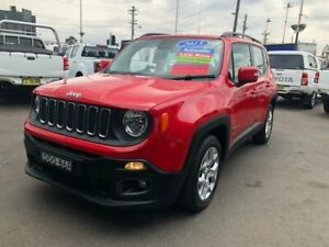 2015 Jeep Renegade BU Longitude Red 6 Speed Auto Dual Clutch Wagon Clyde Parramatta Area Preview