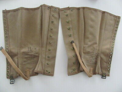 Spats, Gaiters, Puttees – Vintage Shoes Covers WWII WW2 US ARMY LEGGINGS, SPATS,GAITERS,1940/41, UNISSUED, MATCHED PAIR, RARE $34.99 AT vintagedancer.com